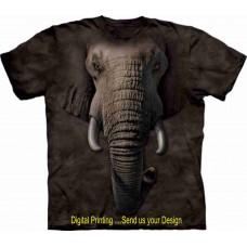 001933- 1062601  ELEPHANT SHIRT - ANIMAL FACES